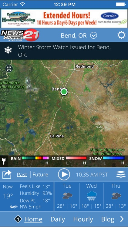 KTVZ NewsChannel 21  Local Alert Weather App