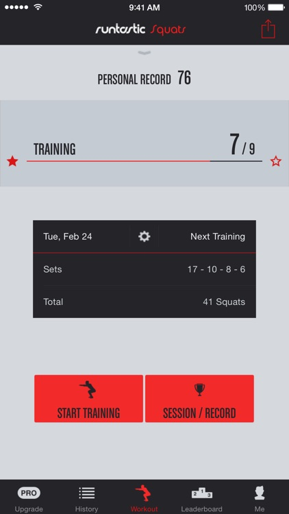 Squats Trainer & Workouts screenshot-0