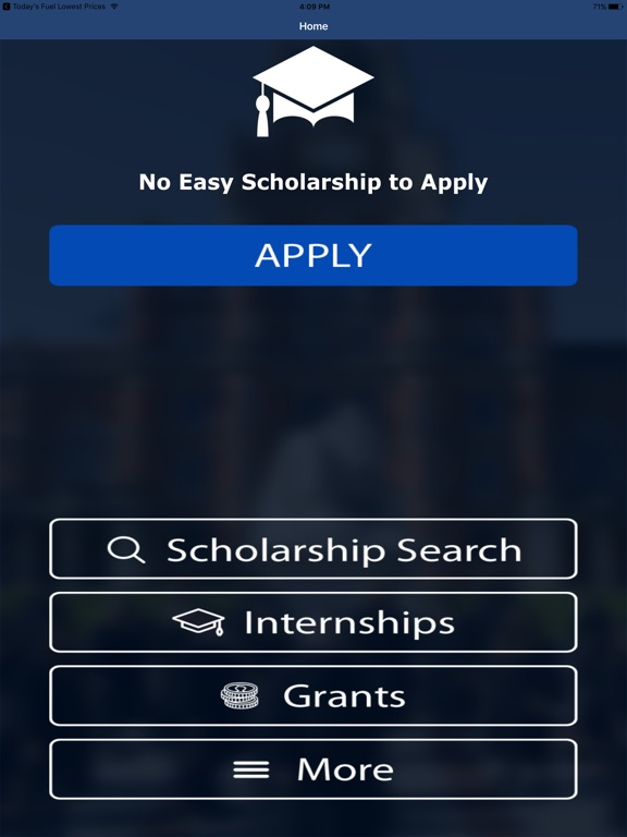 No Essay Scholarship Search  Push To Apply  App Price Drops  Screenshot  For No Essay Scholarship Search  Push To Apply