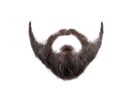 Have fun tie your friends with the Beard an Mo sticker pack for iMessage