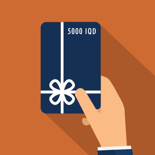 Top-up card كارتی مۆبایل