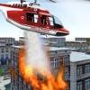 Modern Firefighter Helicopter