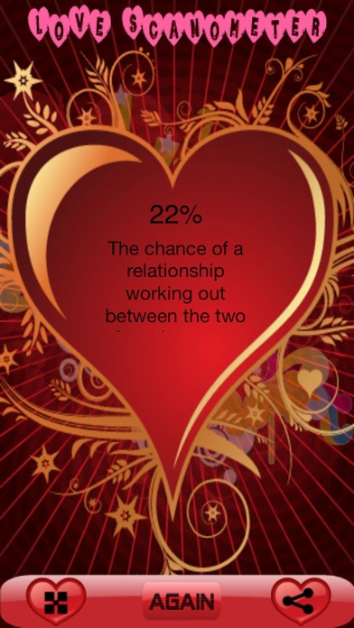 Screenshot for Love Scanometer Pro - Best Love Calculator App in Jordan App Store
