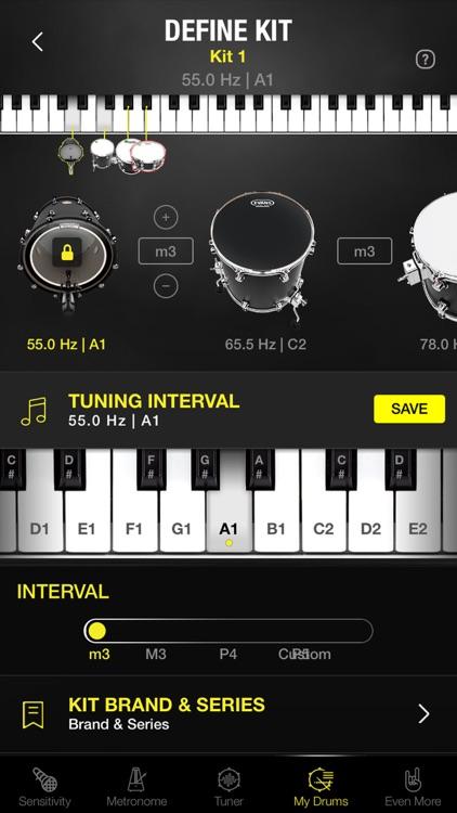 Drumtune PRO | Drum Tuner