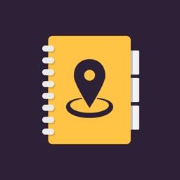 Address Book for Google Maps
