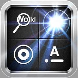 Flashlight, Strobe, Morse Code, Lighted Magnifier