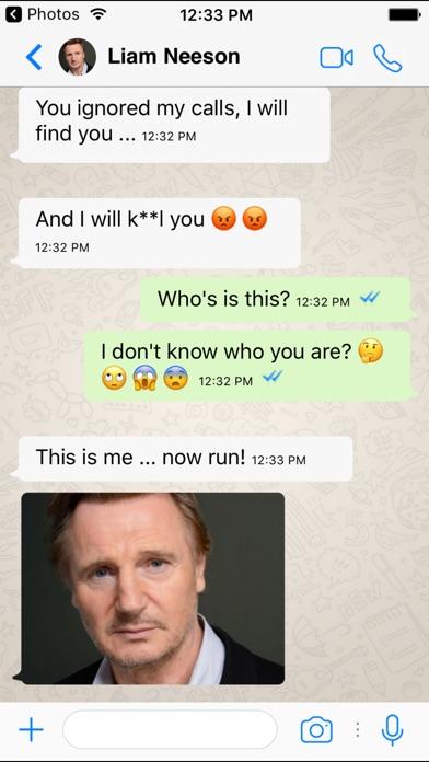 Fake A Text FREE for Whatsapp - Prank Text Message Screenshot 2