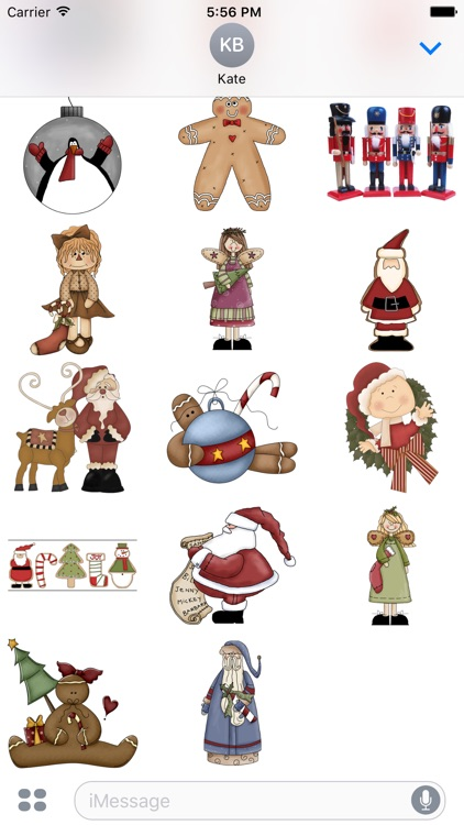 Christmas Stickers #3 for iMessage screenshot-3