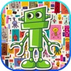 Robot match 3 puzzle game
