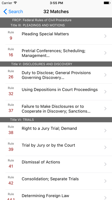 Federal Rules of Civil Procedure (LawStack's FRCP)のおすすめ画像5