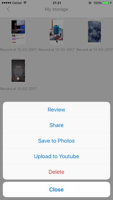 Web Recorder Pro screenshot two