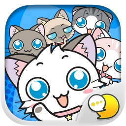 Meow Chat Collection Stickers for iMessage Free