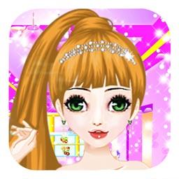 Makeover Royal Princess - salon games