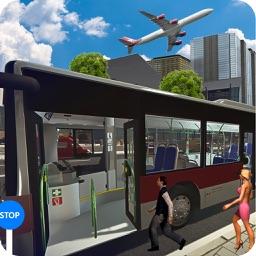 Passenger Coach Bus Driving