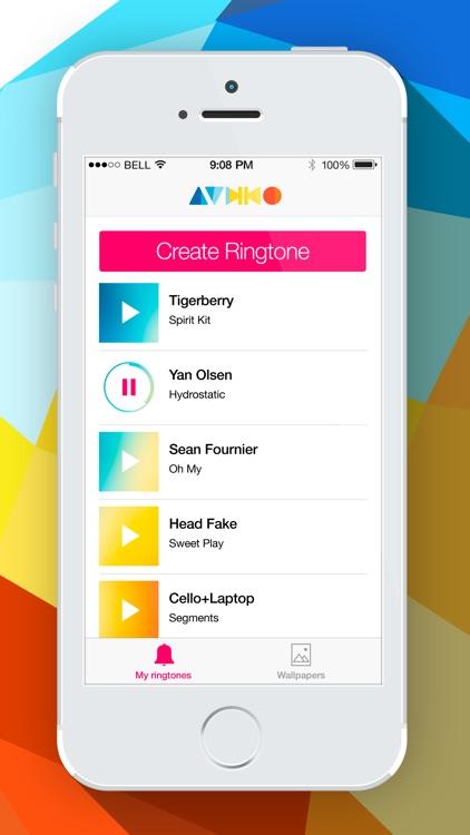 Audiko Ringtones Free Ringtone Maker For Iphone By Audiko