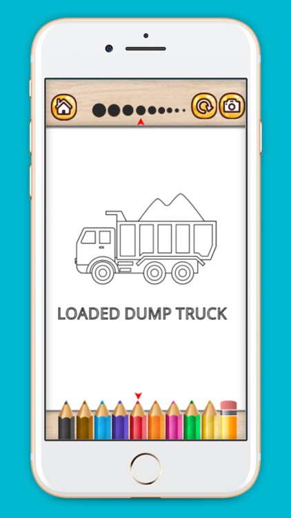 Truck Coloring Book 2017 screenshot-1