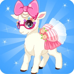The Sheep Dress up in farm free games for girls