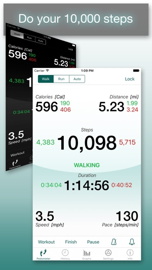 best pedometer app for iphone footsteps pedometer on the app 8400