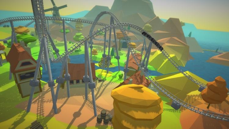 Roller Coaster VR Island for Google Cardboard