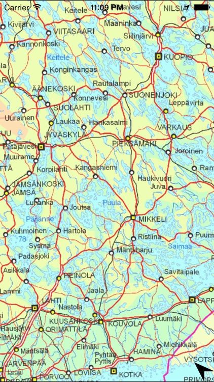 Map of Finland screenshot-3