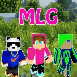 MLG Skins - New Sound Skins for Minecraft PE