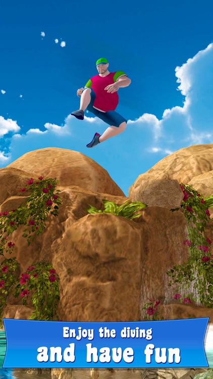 Swimming Pool Cliff Flip Diving Simulator 3D Full screenshot-0