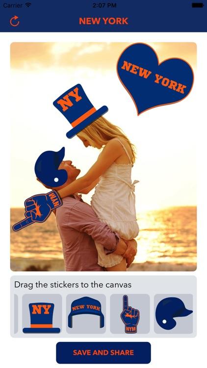 New York M Baseball Stickers & Emojis