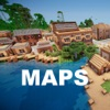 Best Maps for Minecraft PE - One Touch Install - iPhoneアプリ