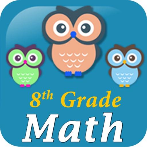 8th Grade Math Test Prep by SoftSchools