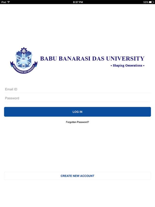 Babu Banarasi Das University Im App Store