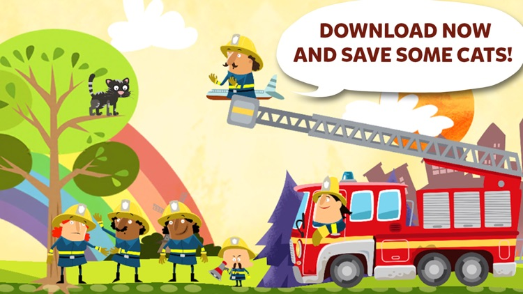 Little Fire Station - Fire Engine & Firefighters screenshot-4