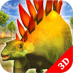 Stegosaurus Simulator Game : Dinosaur Survival 3D