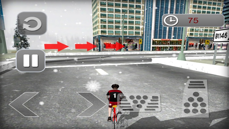 Subway Cycling Race : High-Way City Traffic Rider screenshot-3