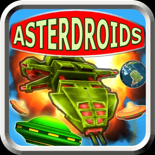 Download AsterDroids free for iPhone, iPod and iPad