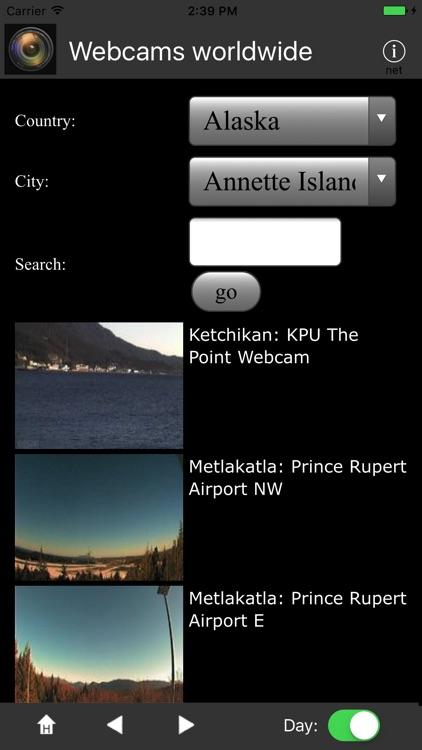 Webcams worldwide screenshot-3