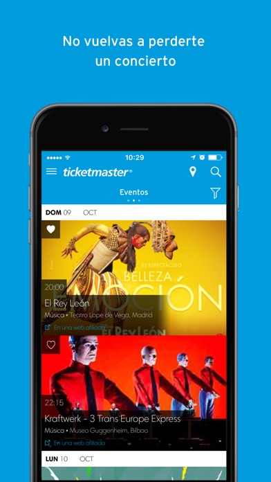download Ticketmaster España apps 3