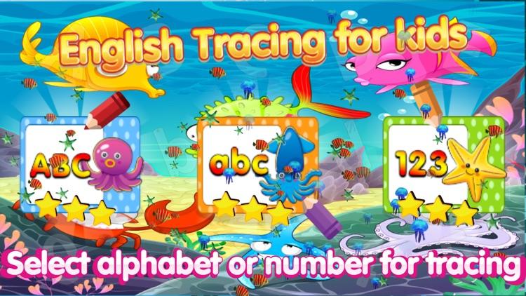 ABC tracing number alphabet 1st grade classroom