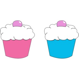 Cupcake Sticker Pack!