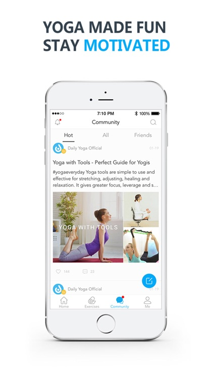 Daily Yoga - Yoga for Weight Loss & Fitness Plan app image