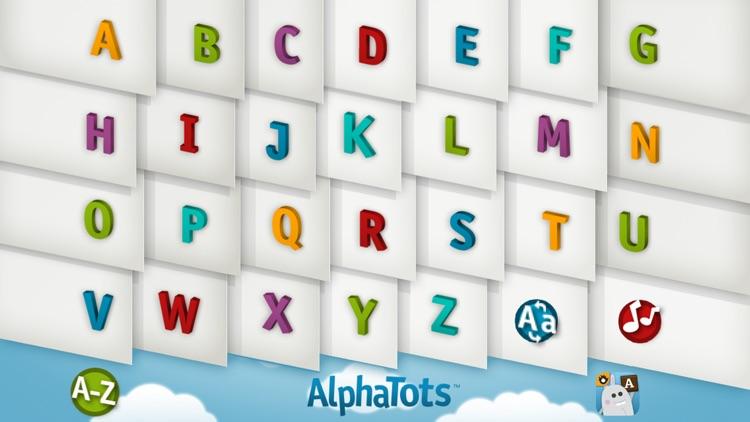 AlphaTots Alphabet screenshot-0