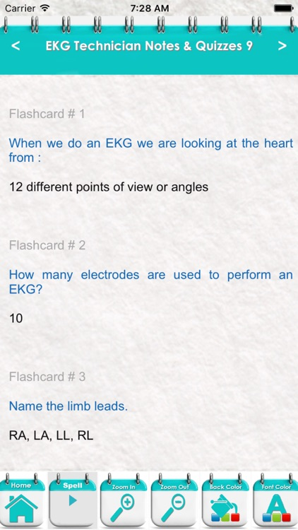 Electrocardiogram Technician EKG Exam 5100 Quiz screenshot-3