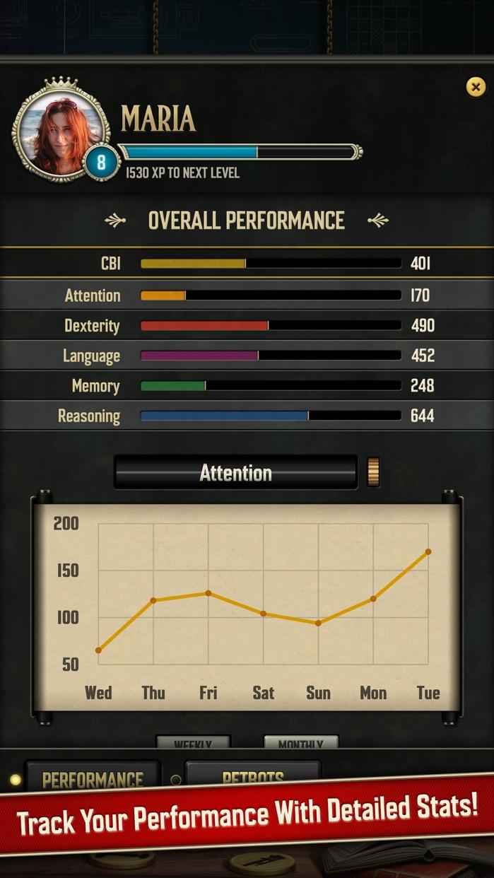 Clockwork Brain Training | Memory & Attention Game Screenshot