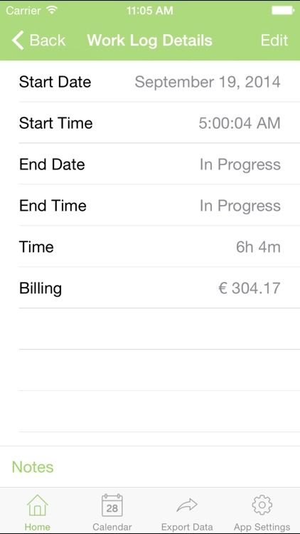 myWorkTime - Timesheet, Time and Billing Tracker screenshot-3
