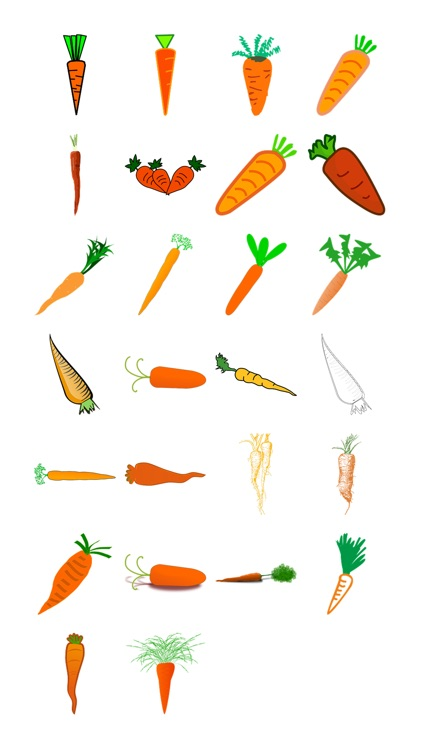 Carrots One Sticker Pack