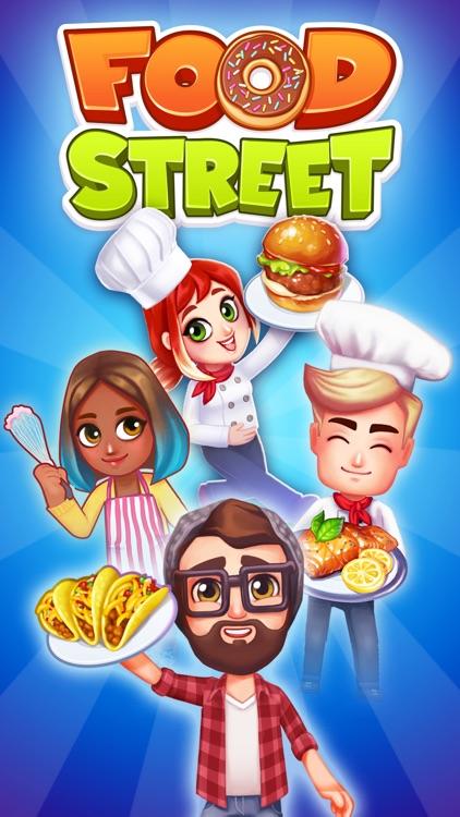 Food Street - Restaurant Game screenshot-0