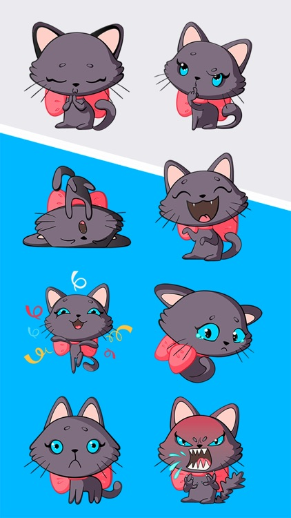 Lucy The Cat Stickers Pack 1