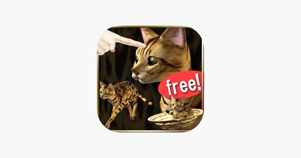 Membelai Kucing Bengal Lebih Kucing Cinta Di App Store