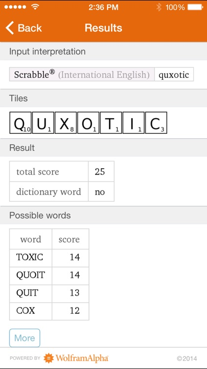 Wolfram Words Reference App screenshot-4
