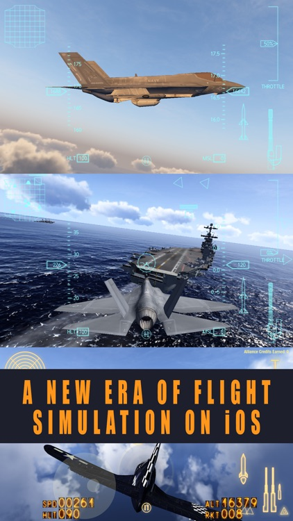Alliance: Air War - Airplane Flight Simulator Game screenshot-0