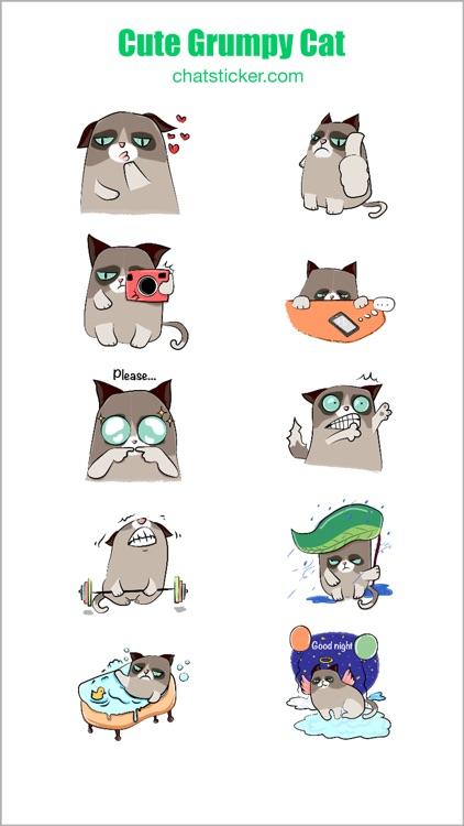 Cute Grumpy Cat screenshot-3